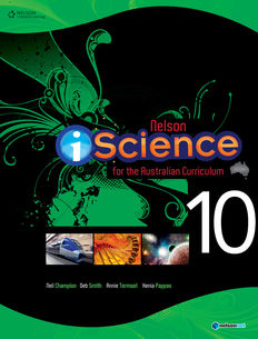 Nelson iScience for the Australian Curriculum, Year 10 (Student Book with 4 Access Codes)
