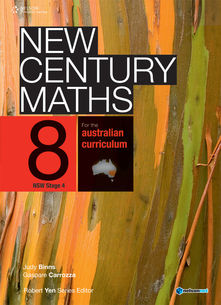 New Century Maths 8 for the Australian Curriculum NSW Stage 4 (Student Book with 4 Access Codes)