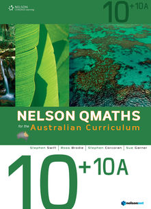Nelson QMaths for the AC 10+10A Student Book Plus Access Card for 4 Years