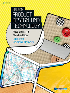 Nelson Product Design and Technology VCE Units 1-4