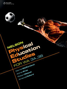 Nelson Physical Education Studies for WA 3A, 3B