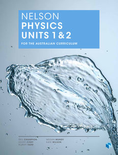Nelson Physics Units 1 & 2 for the Australian Curriculum (Student Book with 4 Access Codes)