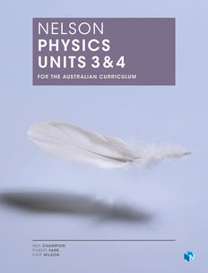 Nelson Physics Units 3 & 4 for the Australian Curriculum (Student Book with 4 Access Codes)