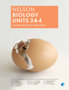 Nelson Biology Units 3 & 4 for the Australian Curriculum (Student Book with 4 Access Codes)