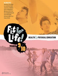 Nelson Fit for Life! Student Book Years 9 & 10