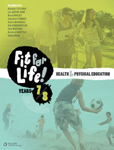 Nelson Fit for Life! Student Book Years 7 & 8