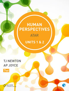 Human Perspectives Units 1 & 2 (Student Book with 4 Access Codes)