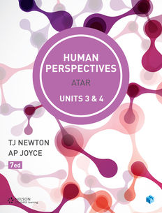 Human Perspectives Units 3 & 4 Student Book with Access Card 4 Years