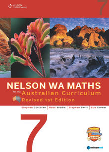 Nelson WA Maths for the Australian Curriculum 7 Revised Edition (Student Book & 4 Access Codes)