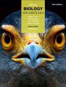 Nelson Biology VCE Units 3 & 4 (Student Book with 4 Access Codes)
