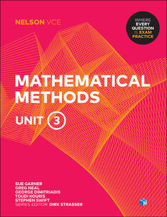 Nelson VCE Mathematical Methods Unit 3 (Student Book with 4 Access Cards)