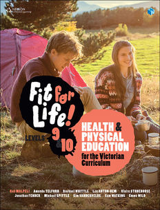 Fit for life! Years 9&10: Health and Physical education for the Victorian Curriculum