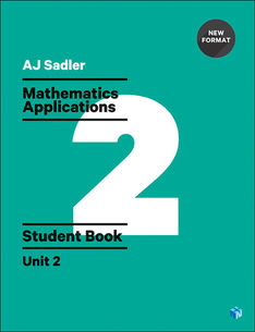 Sadler Maths Applications Unit 2 – Revised with 2 Access Codes