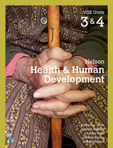 Nelson Health and Human Development VCE Units 3&4 1e