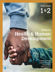 Nelson Health and Human Development VCE Units 1&2 1e