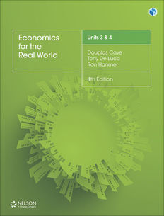 Economics for the Real World Units 3 & 4 Student Book 4ed