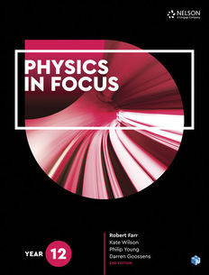 Physics in Focus Year 12