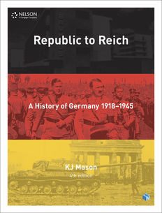 Nelson Modern History: Republic to Reich