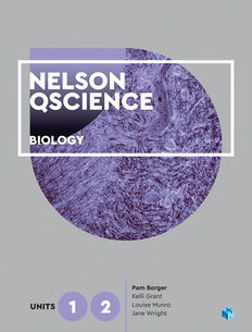 Nelson QScience Biology Units 1 & 2 Student Book 1ed