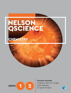 Nelson QScience Chemistry Units 1 & 2 Student Book 1ed