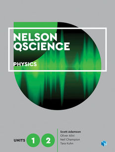 Nelson QScience Physics Units 1 & 2