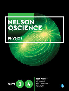 Nelson QScience Physics Units 3&4 Student Book