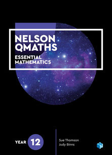 Nelson QMaths 12 Essential Mathematics