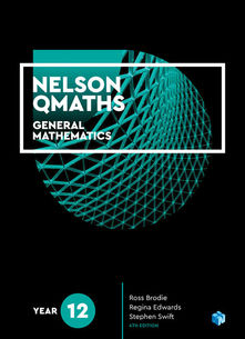 Nelson QMaths 12 General Mathematics 4e Student Book
