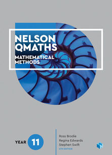 Nelson QMaths 11 Mathematical Methods