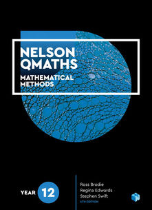 Nelson QMaths 12 Mathematical Methods