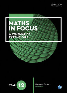 Maths in Focus 12 Mathematics Extension 1