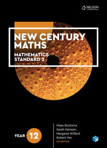 New Century Maths 12 Mathematics Standard 2 4e