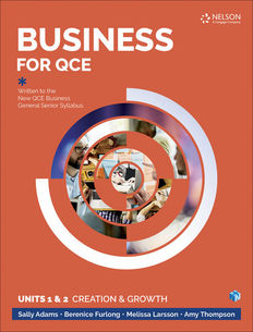 Business for the QCE Units 1 & 2 1ed