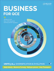 Business for QCE Units 3 & 4 1ed