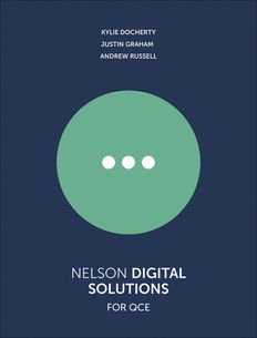 Nelson Digital Solutions for QCE Units 1-4