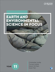Earth and Environmental Science in Focus Year 11