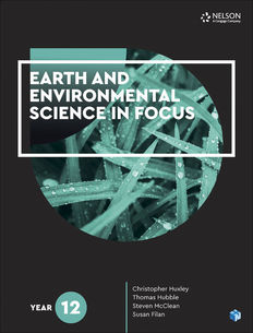 Earth and Environmental Science in Focus Year 12