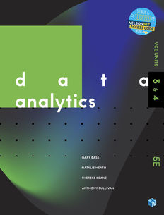 Data Analytics VCE U3&4 5e