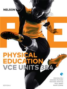 Nelson Physical Education VCE Units 3&4 (Student Book and 4 Access Codes)