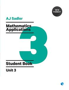 Mathematics Applications Unit 3 Revised 1st Edition