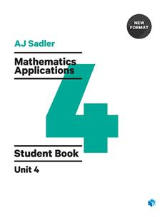 Mathematics Applications Unit 4 Revised 1st Edition