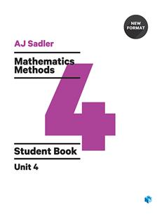 Mathematics Methods Unit 4 Revised 1st Edition