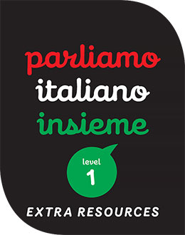 Parliamo italiano insieme for the AC 1 Student Book 1ed