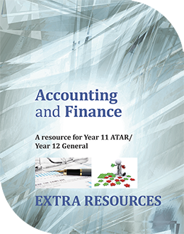 Accounting and Finance: A Resource for Year 11 ATAR/Year 12 General