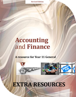 Accounting and Finance: A Resource for Year 11 General
