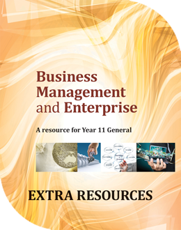 Business Management and Enterprise: A Resource for Year 11 General
