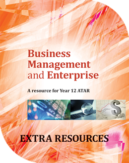 Business Management and Enterprise: A Resource for Year 12 ATAR